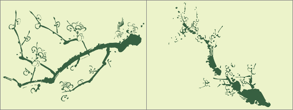 кисти для фотошопа листья: